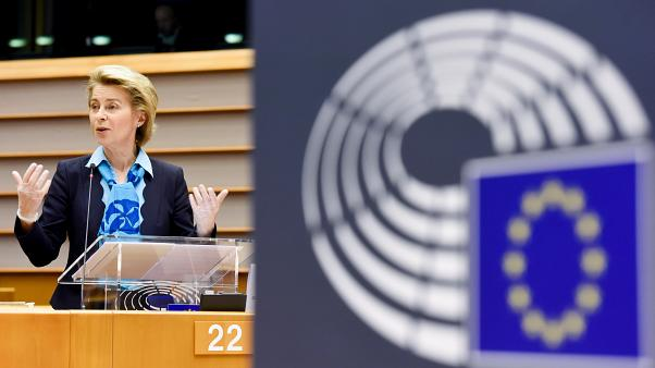 Participation of Ursula von der Leyen, President of the European Commission, at the Plenary session of the European Parliament