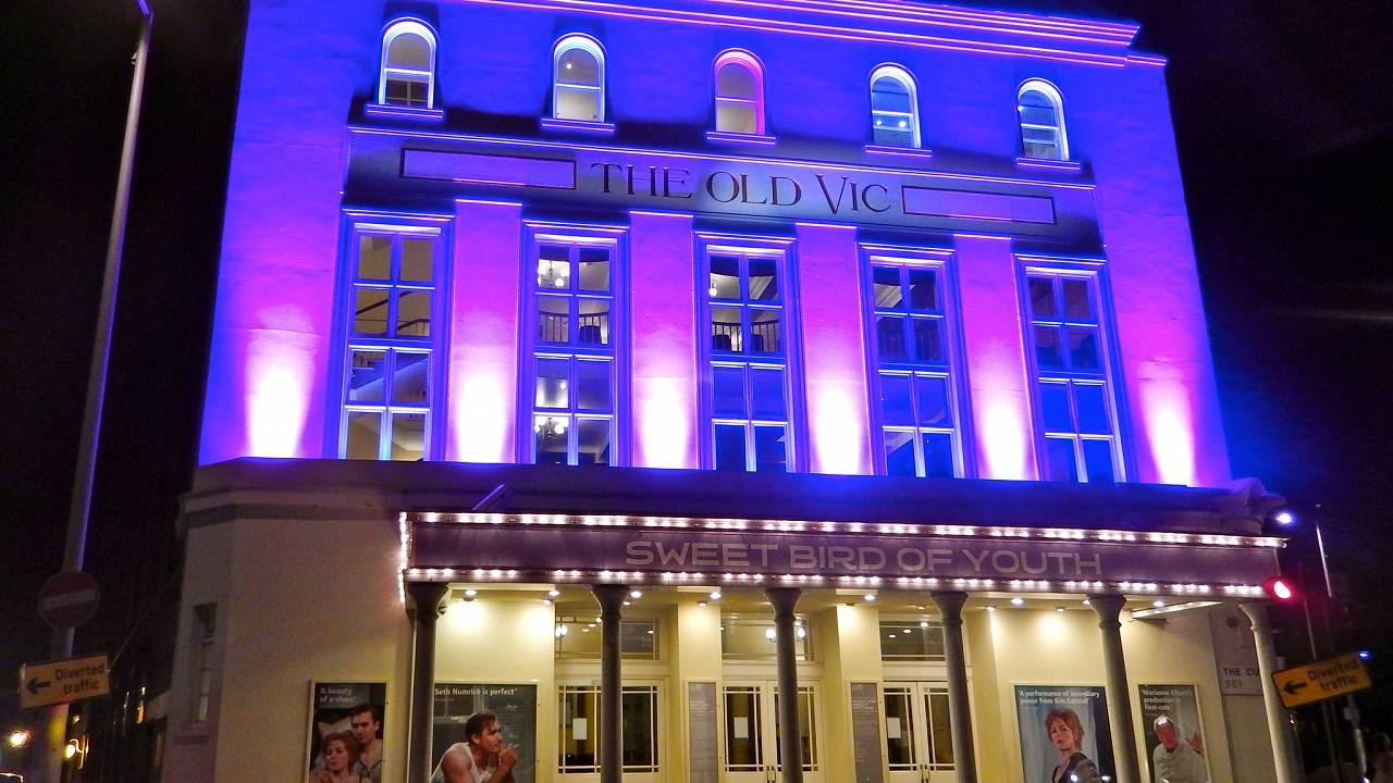 The Old Vic in London, UK.