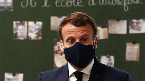 Franca Cumhurbaşkanı Emmanuel Macron