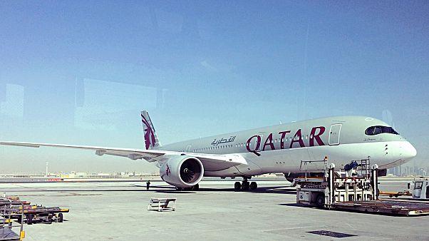 A Qatar gépe (archív)