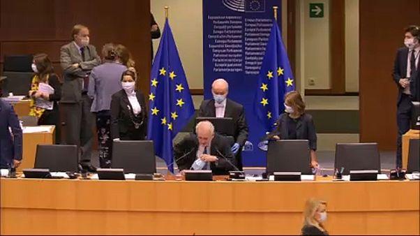Ungarn-Debatte im Europäischen Parlament in Brüssel