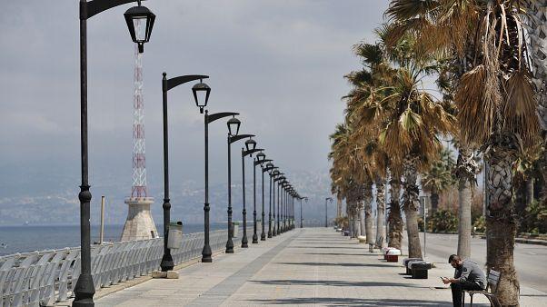 الواجهة البحرية في العاصمة اللبنانية بيروت