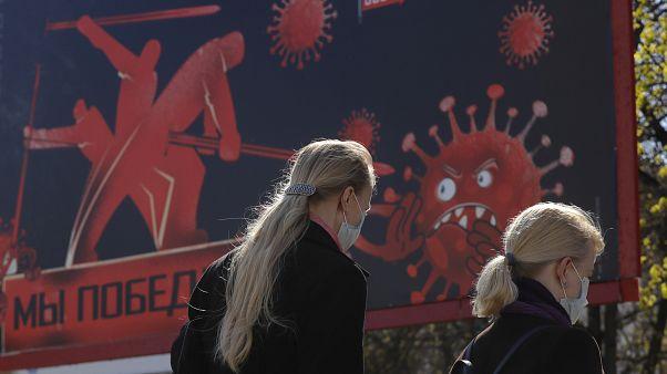 Virus Outbreak Belarus