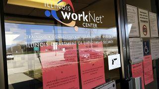 ABD'nin Illinois eyaletindeki bir iş ve işçi bulma ofisi