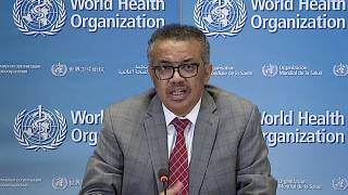 مدير منظمة الصحة العالمية تيدروس أدهانوم غيبرييسوس