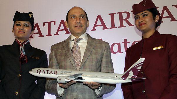 الرئيس التنفيذي للخطوط الجوية القطرية أكبر الباكر
