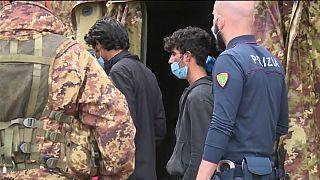 Interceptados 160 migrantes de Pakistán y Afganistán en la frontera italiana