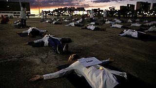 La curva ascendente de contagios en Brasil preocupa a la OMS