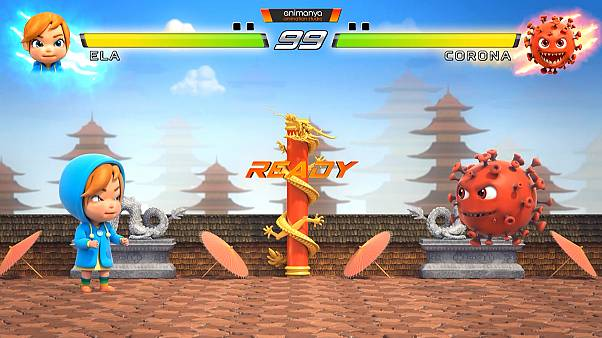 Covid-19 önlemlerini çocuklara anlatmak için 'dövüş oyunu' animasyonu
