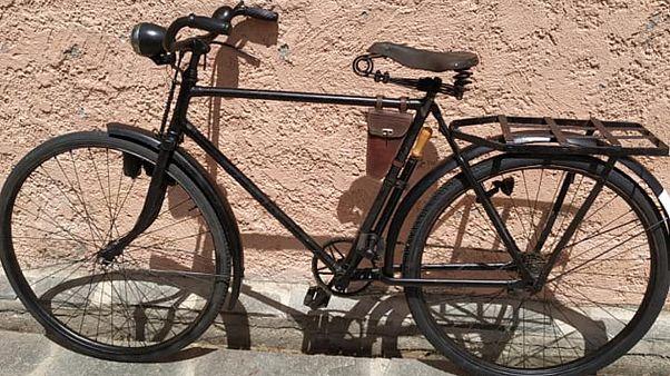 Σπάνιο γερμανικό ποδήλατο της Βέρμαχτ εντοπίστηκε στη Θεσσαλονίκη