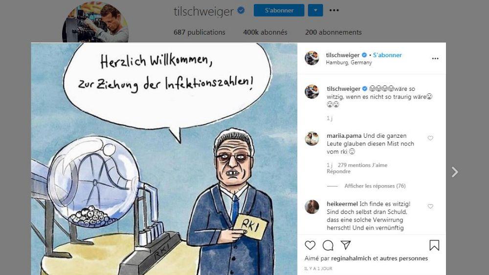 Bissl Verwirrt Til Schweiger 56 Macht Sich Uber Rki Lustig Euronews
