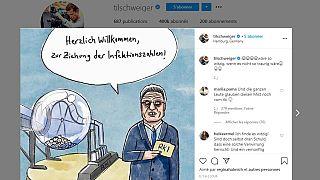 Screenshot Til Schweiger auf Instagram