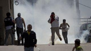صورة من الأرشيف لاشتباكات بين الشرطة الإسرائيلية وشبان فلسطينيين