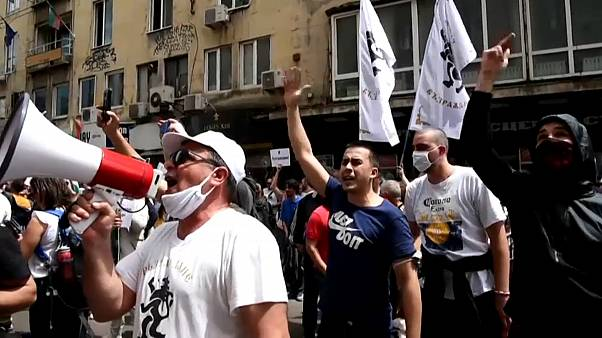 Sofia: Widerstand gegen die Pandemiebestimmungen