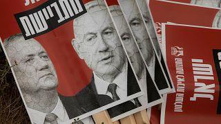İsrail'de koalisyon anlaşmasına karşı eylem düzenlendi