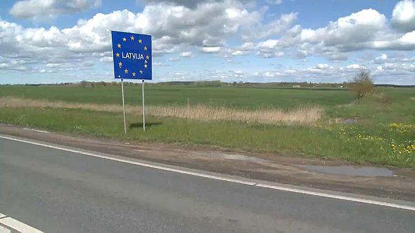 Estonia, Letonia y Lituania abren sus fronteras comunes