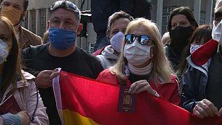 """""""Estamos desesperados"""", los españoles varados en Uruguay piden un vuelo de repatriación"""