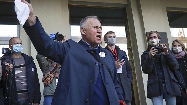 Virus Outbreak Belarus Presidental Election