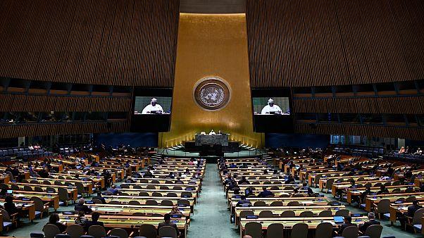 اجتماع الجمعية العامة في نيويورك في 28 سبتمبر 2019