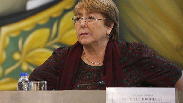 مفوضة الأمم المتحدة لحقوق الإنسان ميشال باشليه