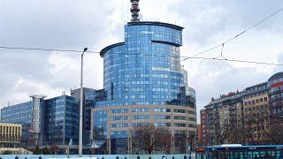 A Budapesti Rendőr-főkapitányság épülete a XIII. kerület Teve utca 4-6-ban