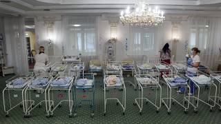Dozens of newborn babies are stranded in Kyiv due to coronavirus lockdown