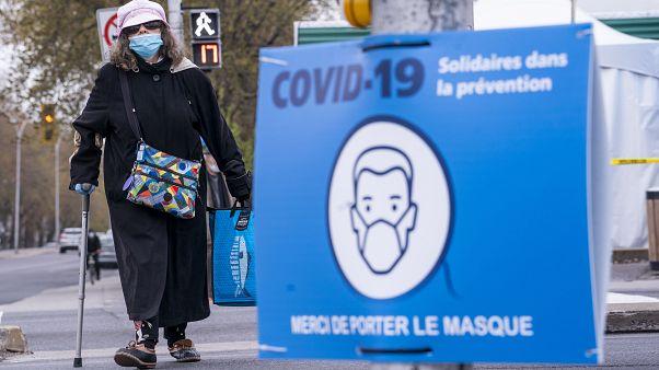 Virus salgını - Kanada / Montreal