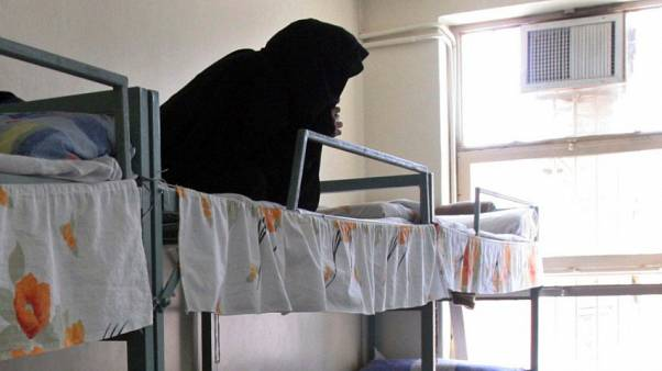 امرأة في سجن إيفين في طهران - 2006/06/13