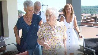 پیرترین زن اسپانیا از کرونا نجات پیدا کرد