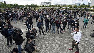 Manifestations anti-restrictions aux quatre coins de l'Europe