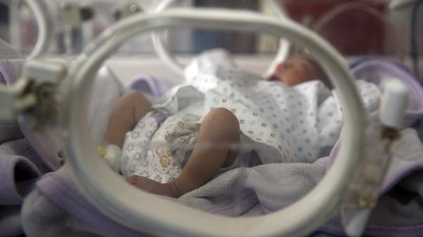 Yeni doğmuş bir bebek, arşiv