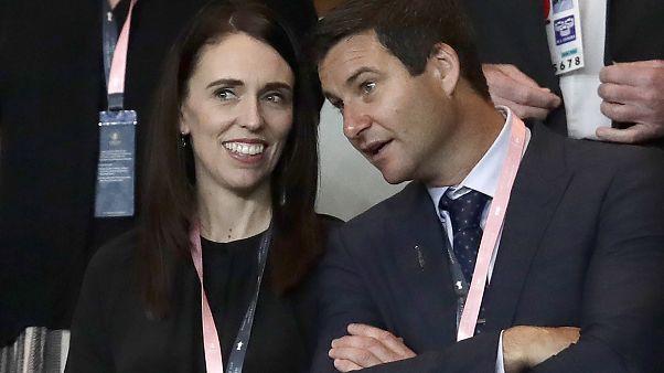 Yeni Zelanda Başbakanı Jacinda Ardern ve nişanlısı, 21 Eylül 2019