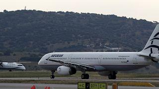 Virus Outbreak Greece Airlines
