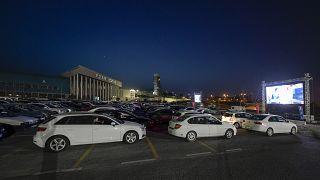 İzmir - Arabalı sinema etkinliği