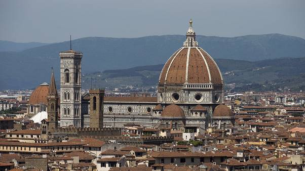 View of the Santa Maria del Fiore cathedral, in Florence, Monday, May 11, 2015. (AP Photo/Andrew Medichini)