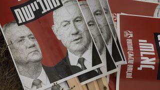 Benjamin Netanyahu, Benny Gantz