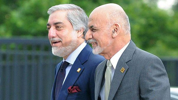 امضای توافقنامه سیاسی میان غنی و عبدالله بر سر تقسیم قدرت در افغانستان