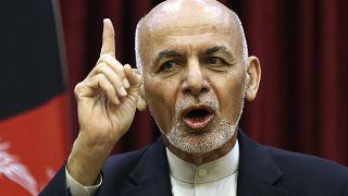 Afghan President Ashraf Ghani in March, 2020