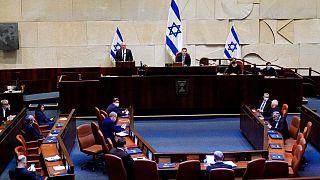 پارلمان اسرائیل دولت ائتلافی بنی گانتس و بنیامین نتانیاهو را تایید کرد