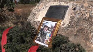 Сирия: на месте гибели российского летчика Филипова установили памятный знак