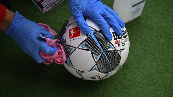 APTOPIX Virus Outbreak Germany Soccer Bundesliga