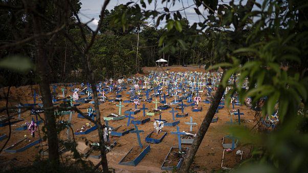 Virus Outbreak Brazil Amazon