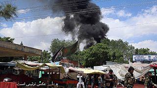 دستکم ۷ کشته در حمله با خودروی بمب گذاری شده در ولایت غزنی افغانستان