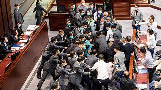 Hong Kong Kongre Komitesinde arbede