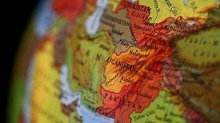 Afganistan haritası