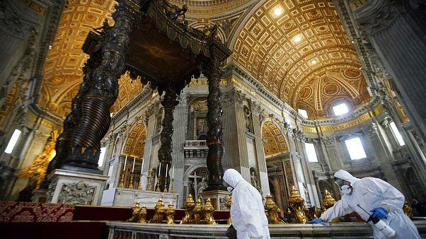 Virus Outbreak Vatican Reopening