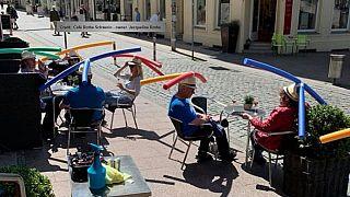 En Allemagne, une solution insolite pour garder ses distances pendant le déconfinement