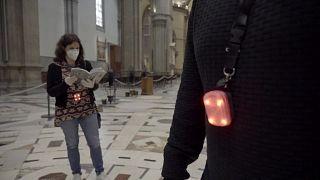 شاهد: كاتدرائية فلورنسا تضع نظاما لضمان التباعد الاجتماعي أثناء أزمة كورونا