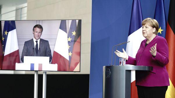 Francia y Alemania proponen un plan de recuperación de 500.000 millones de euros