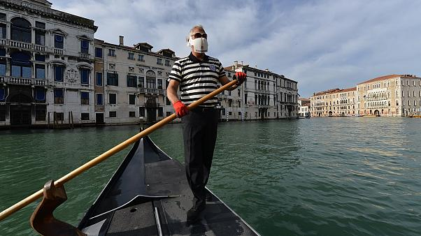 Venice's gondolas are back after Italy relaxes COVID-19 restrictions
